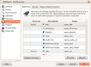 Screenshot of SMPlayer