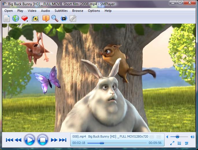 SMPlayer - Screenshots