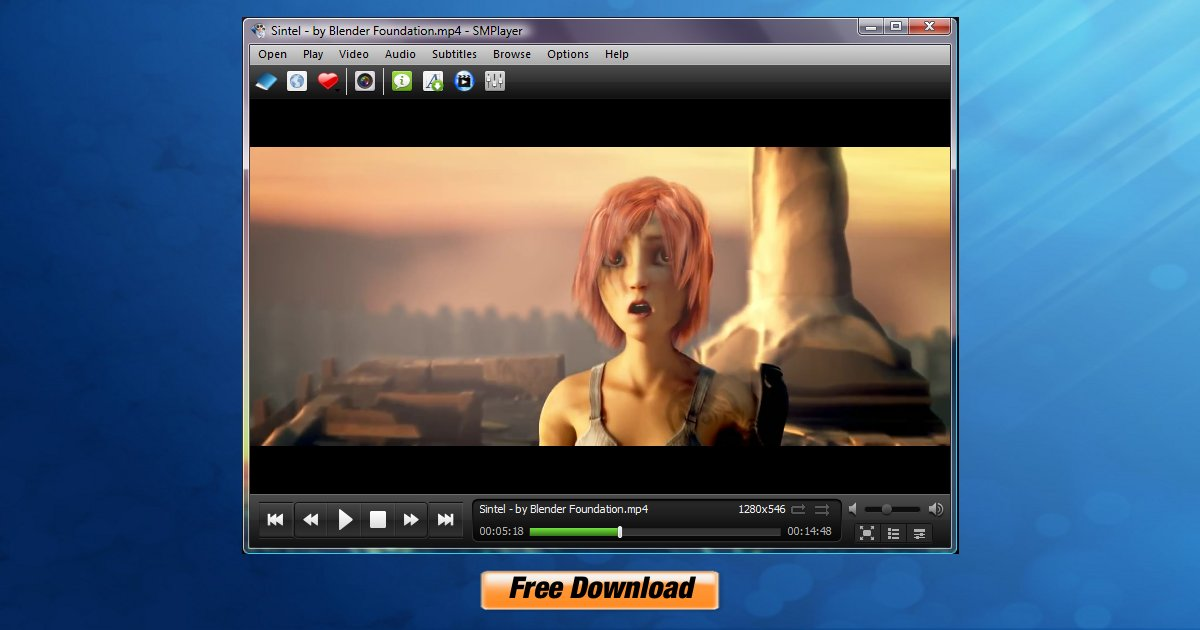 free mp4 video player for website